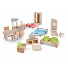 Green Furniture Play Set