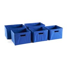 Essentials 5 Piece Storage Bin Set