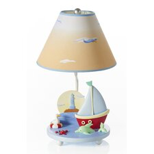 "Sailing 19"" H Table Lamp with Empire Shade"