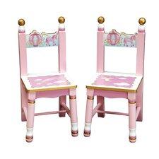 Princess Extra Kid's Chair (Set of 2)