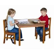 New Mission Kid's 3 Piece Table and Chair Set