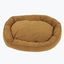 Oval Lounge Bagel Donut Dog Bed