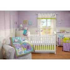 Dreamland 4 Piece Crib Bedding Set