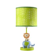 "Congo Bongo 10"" H Table Lamp with Drum Shade"