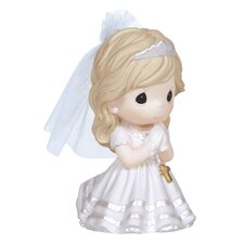 Remembrance of My First Holy Communion Girl Figurine
