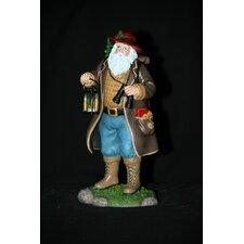 """Camping Claus"" Camping Santa Figurine"