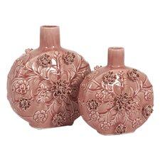 2 Piece Blossom Vase Set