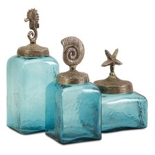 Sea Life Canister (Set of 3)
