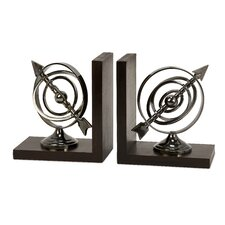 Calisto Armillary Book End (Set of 2)