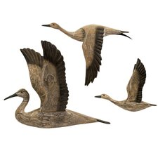 3 Piece Reeds Migration Wall Décor Set