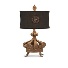 "Prince George 24"" H Table Lamp with Oval Shade"
