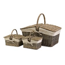 Olivia 3 Piece Picnic Baskets Set