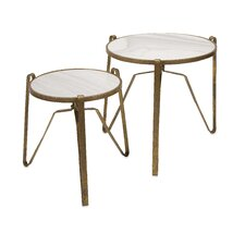 2 Piece Marley End Table Set
