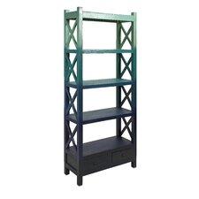 "Vertigo Wood 76"" Standard Bookcase"