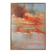 Messer Framed Oil Painting Print on Canvas