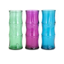 Tropicali Recycled Glass Vase (Set of 3)