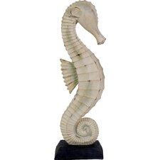 Sand Washed Seahorse Figurine