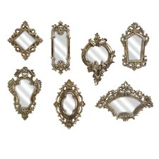 7 Piece Loletta Victorian Inspired Mirror Set