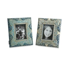 Haani Hand Painted Picture Frames (Set of 2)