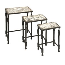 Knoxlin 3 Piece Nesting Table Set