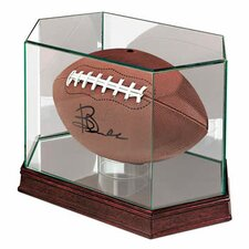 Football Glass Display Case