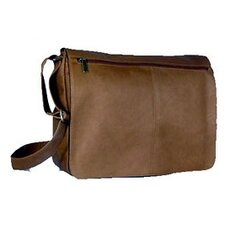 Vaquetta Leather Messenger Bag