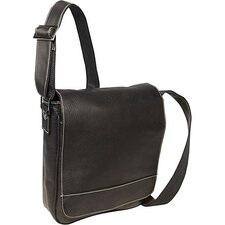 Premier Deluxe Medium Flap Over Messenger
