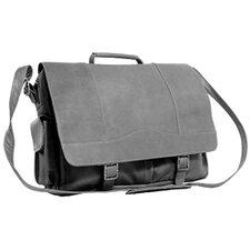 Porthole Leather Briefcase