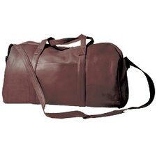 "18"" Leather Travel Duffel"