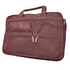 Leather Laptop Organizer Briefcase