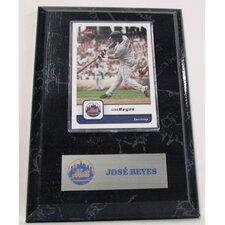 MLB Jose Reyes Card Plaque - New York Mets