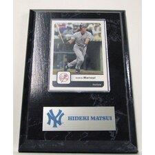 Sports Images Card Plaque MLB PLQBBNYYHM Card  - New York Yankees Memorabilia Plaque