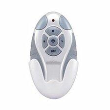 Non Reversing Fan and Light Remote Control in White