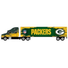 NFL 2009 1:80 Tractor Trailer Diecast Toy Vehicles - Green Bay Packers