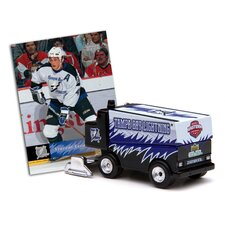 NHL 2006 / 7 Zamboni Machines with Vincent Lecava Trading Card - Tampa Bay Lightning