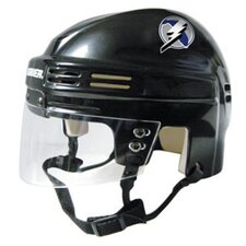 Official NHL Licensed Mini Player Helmets - Tampa Bay Lightnings