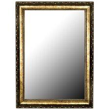 Roman Beaded Silver Gold Wall Mirror