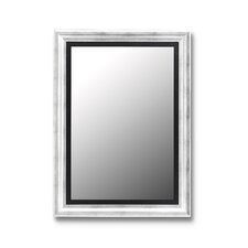 Torino Mirror in Silver Petite with Executive Black Liner