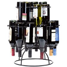 Revolution Wine Carousel 19 Bottle Tabletop Wine Rack