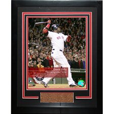 David Ortiz #34 Red Sox 'Feel The Game' Framed Photograph
