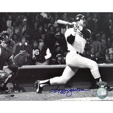"Reggie Jackson Autographed 77 WS Home Run off Sosa Side View 8"" x 10"" Photo"