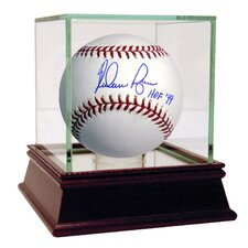 MLB Nolan Ryan Signed Baseball with HOF Inscription