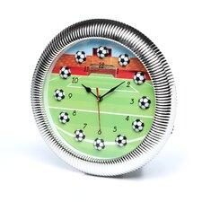"""13"""" Quartz Movement Soccer Wall Clock"""