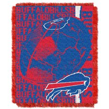NFL Buffalo Bills Triple Woven Jacquard Throw Blanket
