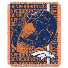 NFL Denver BroncosTriple Woven Jacquard Throw Blanket