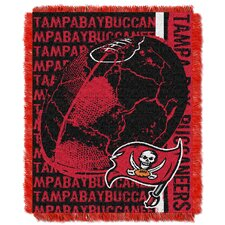 NFL Tampa Bay Buccaneers Triple Woven Jacquard Throw Blanket