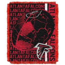 NFL Atlanta Falcons Triple Woven Jacquard Throw Blanket