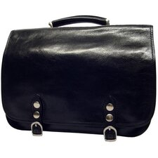 Verona Comano Leather Laptop Briefcase