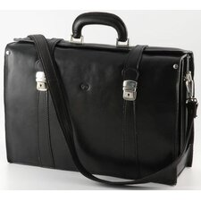 Verona Tomasi Leather Laptop Briefcase