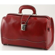 "Verona Giotto 14.75"" Leather Carry-On Duffel"